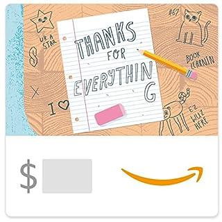 Amazon eGift Card - Thank You Teacher (Desk) (B01MQWIR9J) | Amazon price tracker / tracking, Amazon price history charts, Amazon price watches, Amazon price drop alerts