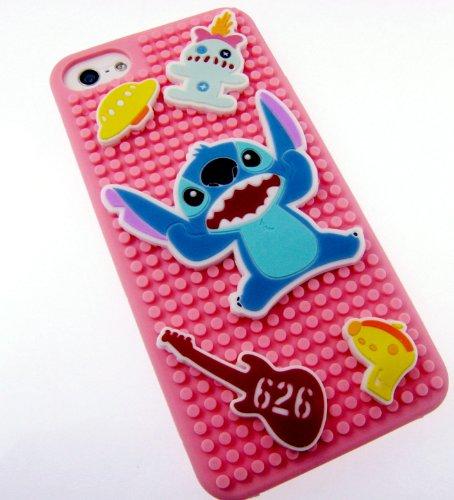 Stitch badge soft silicon iPhone case (japan import)