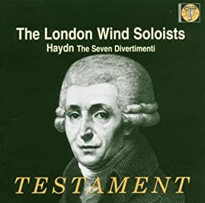 Haydn: Seven Divertimenti for 2 Oboes, 2 Horns & 2 Bassoons
