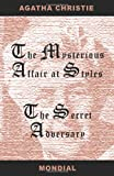 The Mysterious Affair at Styles and The Secret Adversary, Agatha Christie, 1595690417
