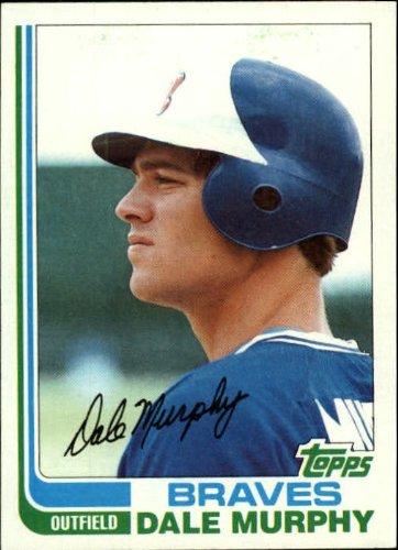 1982 Topps Baseball Card #668 Dale Murphy - 668 Mint
