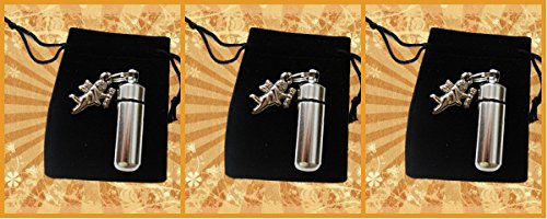 Trio of ANGELS - 3 Cremation Urn Set - Includes 3 Velvet Pouches & Fill - Angel Trio
