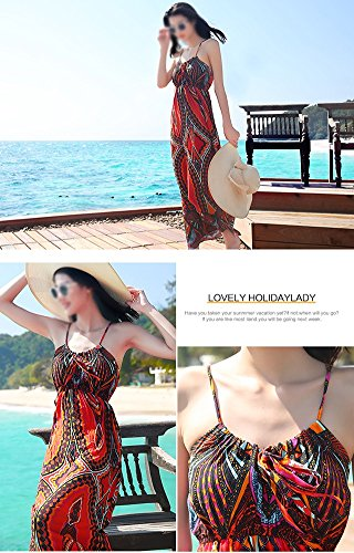 Sommer Sling Rock böhmischen Beach Stil As Dress Shown Kleider Ethnischen qwIAZOSn1q