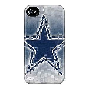 Iphone 4/4s PpY17928oCYP Custom Beautiful Dallas Cowboys Skin Scratch Resistant Hard Phone Cases -AlissaDubois