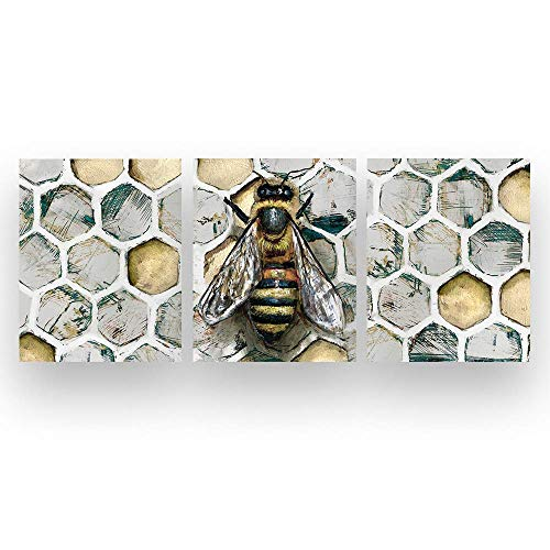Kitchen Wall Decor Art Prints -Apiary Prints - (Set Of 3) - 8x10s -Unframed