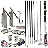 Drywall Master 10/12 Ultimate Pro Automatic Taping and Finishing Set - Taper, 2 Pumps, 10/12 Boxes, 2 Nail Spotters, Corner Tools, Handles