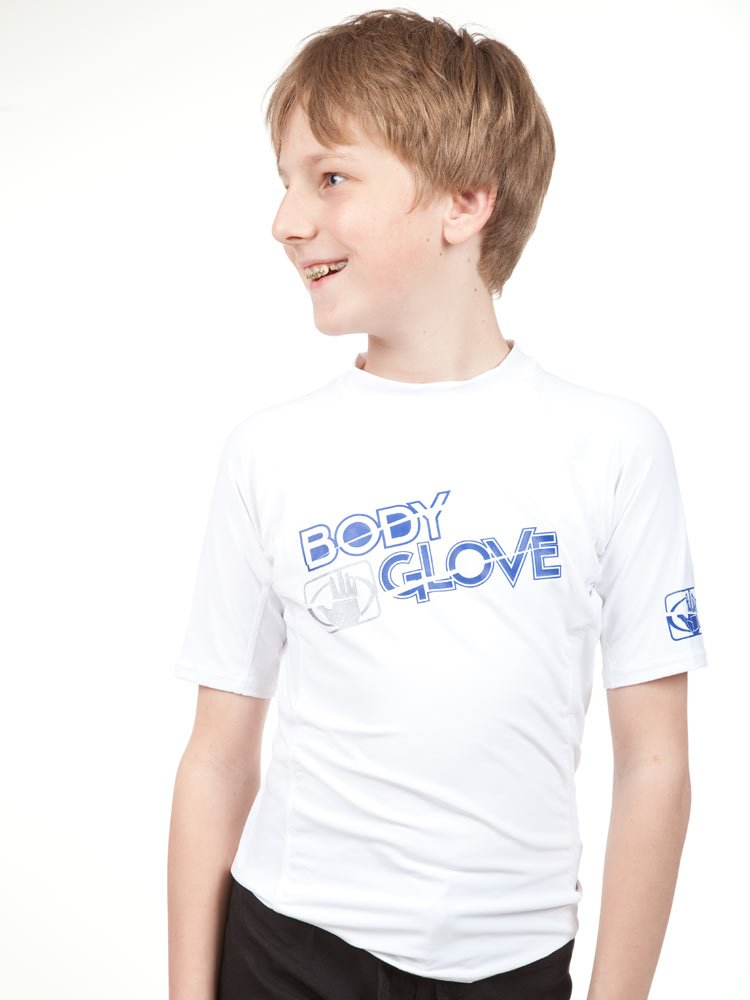 Body Glove Boys S/A fitted Basic Rashguards Body Glove Wetsuit Co. 11210JAA 10