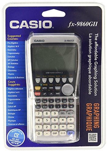 Casio FX-9860GII-L-IH Calculadora Graficadora