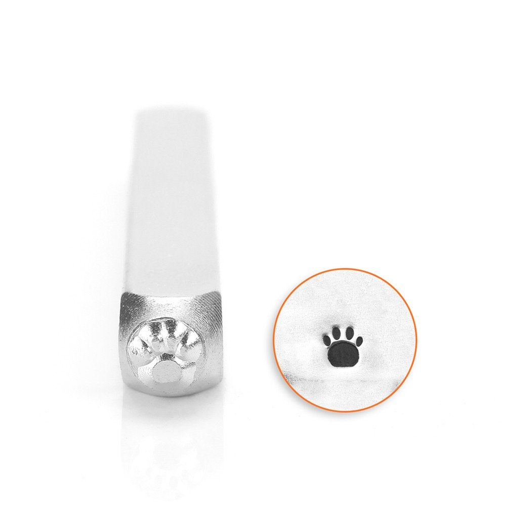 ImpressArt- 3mm, Paw Print (Small) Design Stamp SC156-I-3MM