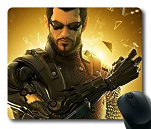 Deus EX 3 Human Revolution 01 Mouse Pad, Customized Rectangle Mousepad Diy By Bestsellcase