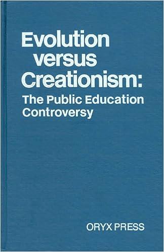 creationism versus evolution