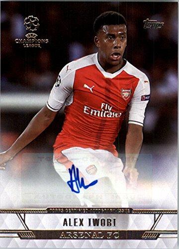2016-17 Topps UEFA Champions League Showcase Champions League Autographs #CLAAI Alex Iwobi Auto - NM-MT