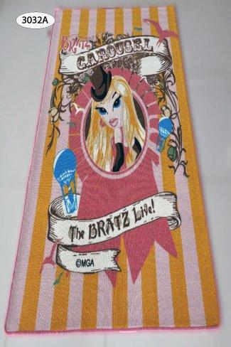 SHN Kids Area Rug - Bratz Girls (37x52) (3032A-Pink Orange)