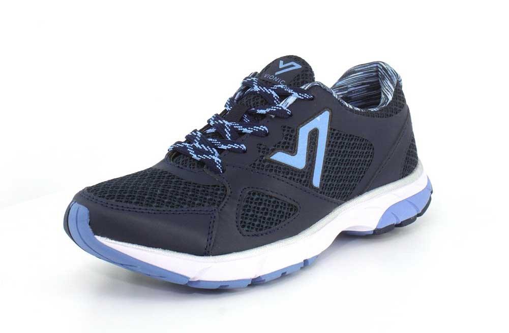 Vionic Women's Satima Walking Shoes B018VLTW44 7.5 B(M) US|Navy