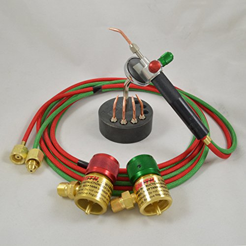 Smith Little Torch Jewelry Soldering Kit With 5 Tips, Regulators, Magnetic -