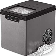 With the Vremi Portable Countertop Ice Maker, you'll never run out of ice when you need it. Our energy-efficient compact ice making machine keeps parties and family dinners alive with ice whenever and wherever you need it. In just 8 to 10 min...
