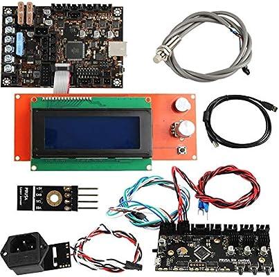 Rungao Kit de piezas electrónicas para controlador de impresora 3D ...