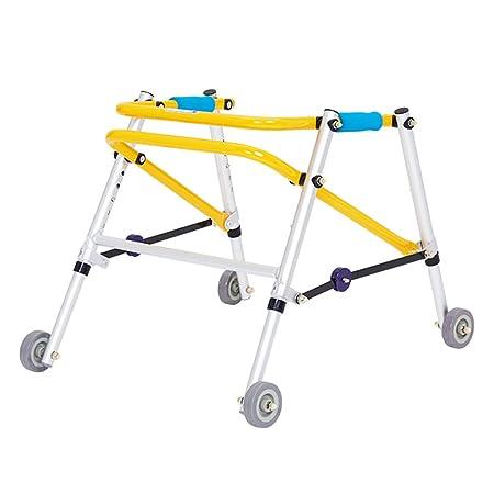 Tellgoy-Walker Andador para niños con Rodillo, Plegable, 4 Ruedas ...