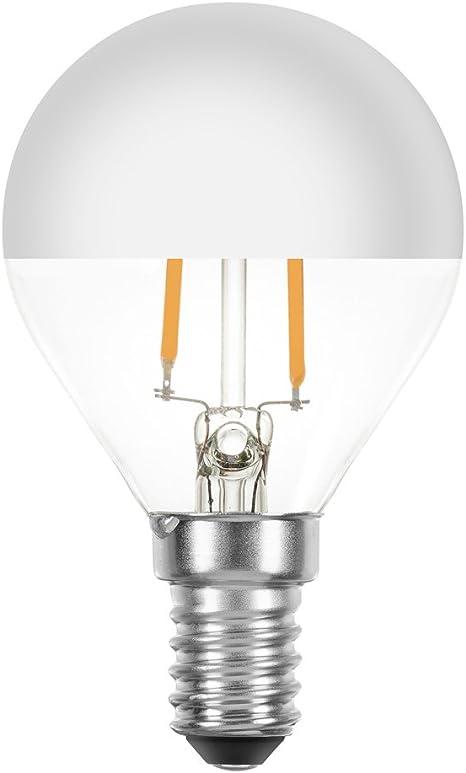 Lampadine Led Filamento Goccia 2w 25w E14 Testa Specchio Argento Filamento Extra Bianco Caldo 2200k Retro Nostalgia Amazon It Illuminazione