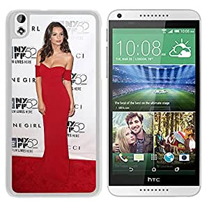 Beautiful Girl Cover Case For HTC Desire 816 With Emily Ratajkowski Girl Mobile Wallpaper(186) Phone Case