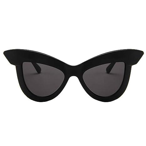 Gafas de sol de ojo de gato: gafas de sol unisex ligeras ...