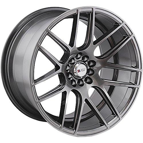 (18x9.5 F1R F18 Hyper Black Rim Offset(35) Lug(5x114.3/5x120) Bore(73.1) 1 Wheel -- F1818955120HB35)