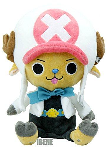One Piece Film Gold Ver, White Tony Chopper Authentic Stuffed Plush Doll (Tony Chopper)