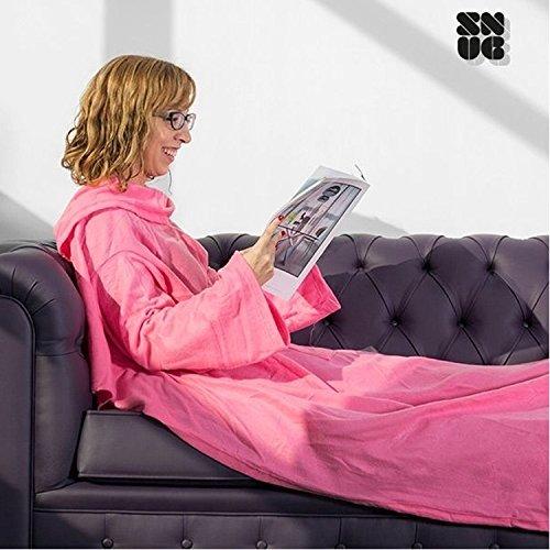 One Big Snug Snug Decke mit Ärmeln - Blau
