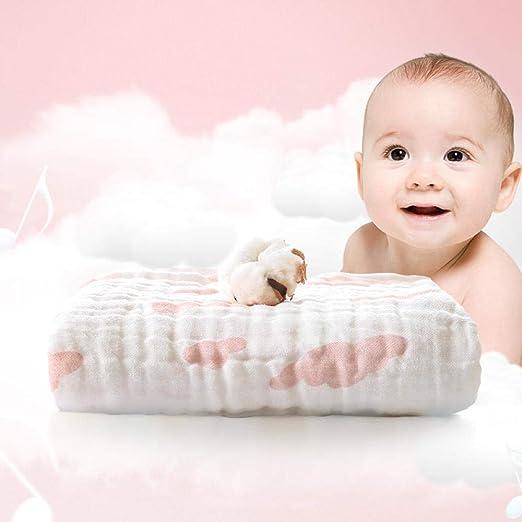 SQYJ Toallas de baño Bebé Toalla de baño de algodón Engrosada 6 ...