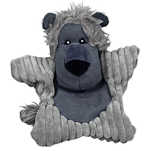 - Blue Ribbon Plushables Natra Buddies Happy Lion Dog Toy
