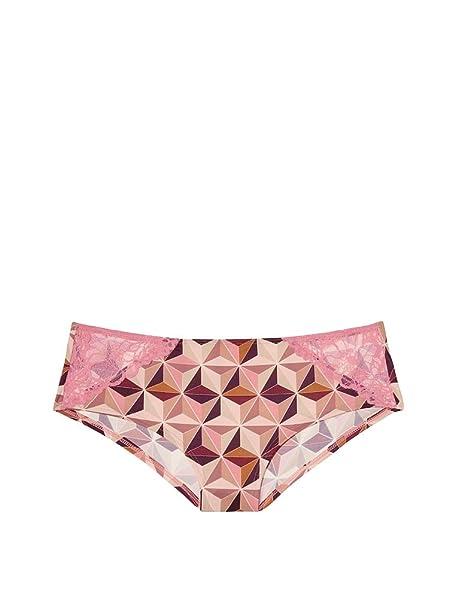40940c89a75c7 Victoria  s Secret PINK New ! Super soft Lace trim Hipster Panty Warm Multi  Geo