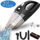 Handheld Vacuums Cordless Car Hand Vacuum Cleaner 2500mAh...
