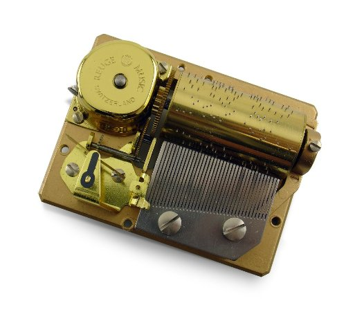 MusicBoxAttic 36 Note Swiss Mechanical Movement - Choose Your Songs (048. Waltz of the Flowers)