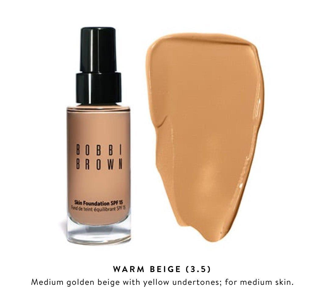 Amazoncom Bobbi Brown Skin Foundation Spf 15 No 35 Warm Beige