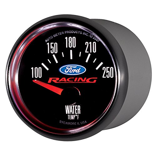 Auto Meter 880077 Ford Racing Series Electric Water Temperature Gauge