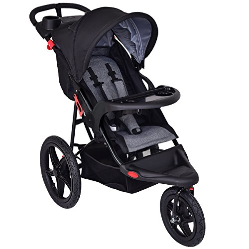 Costzon Baby Jogger Stroller Lightweight w/ Cup Phone Holder by Costzon (Image #2)'