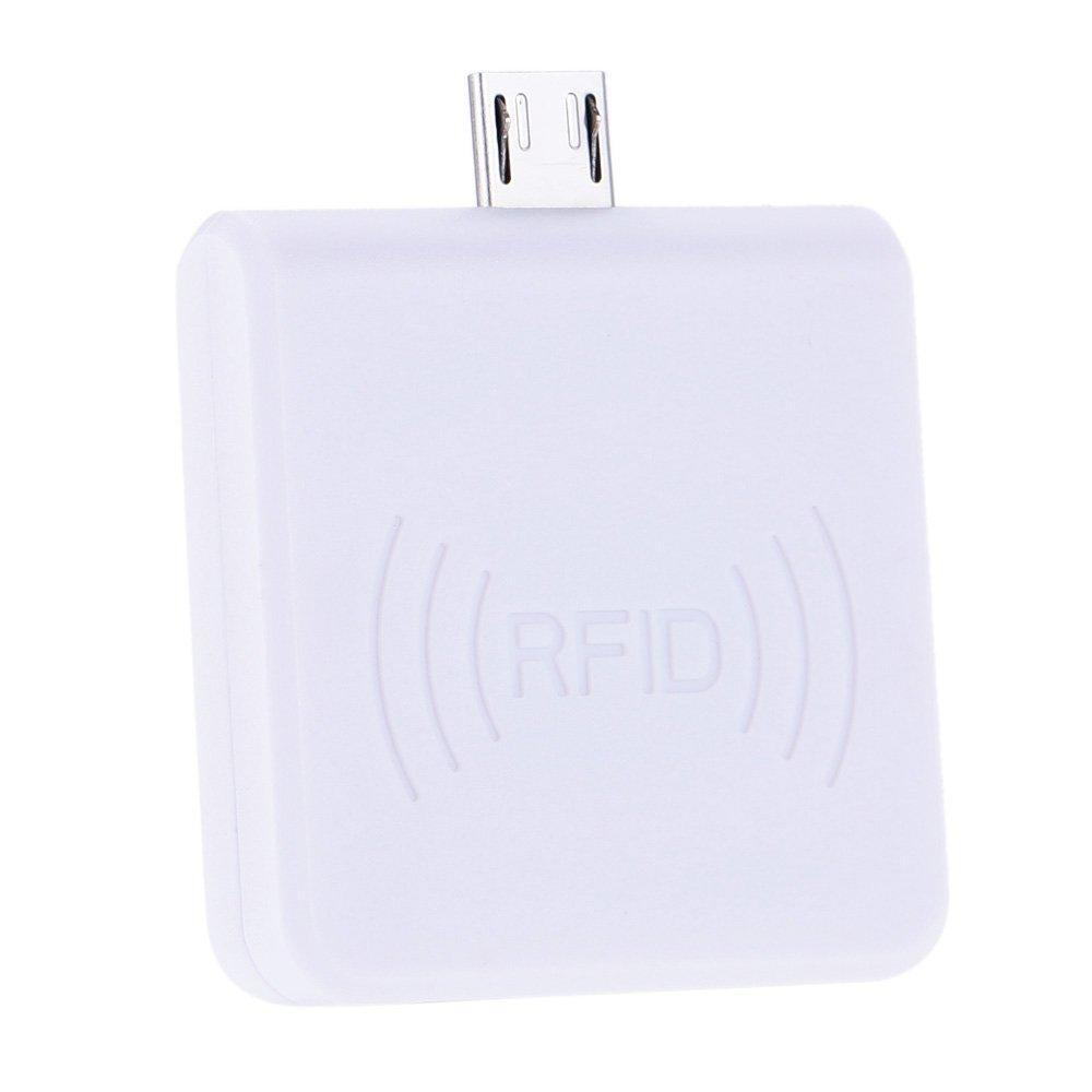 Card Reader, Walmeck Portable RFID 125KHz Proximity Smart EM Card USB ID Reader for Win8/Android/OTG