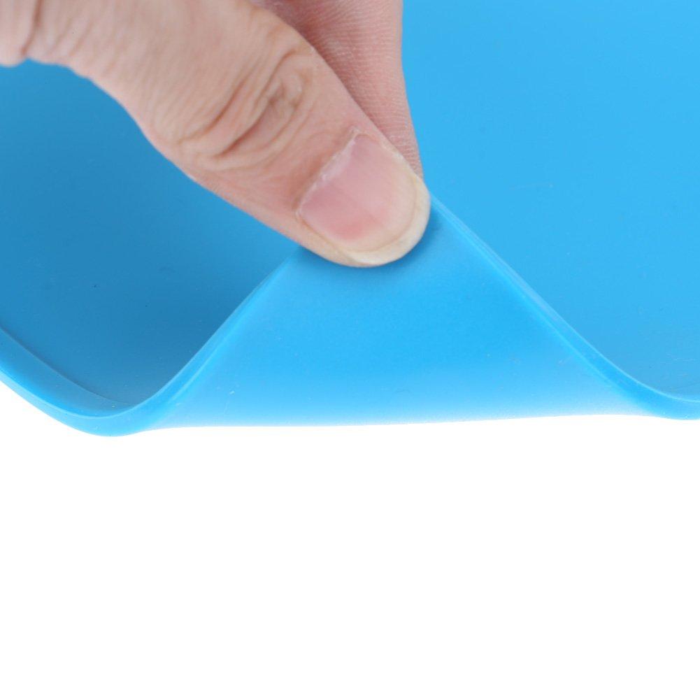 DOMYBEST Isolation Thermique Plaque de Support en Silicone Plate-forme de R/éparation Electronique.