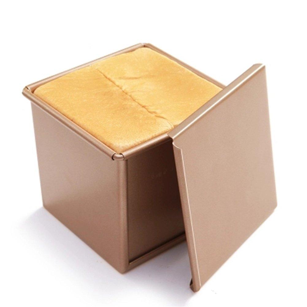 CAN_Deal Cuadrado Antiadherente Tostadas Caja De La Cocina De Reposteria Molde De Pan Para Hornear: Amazon.es: Hogar