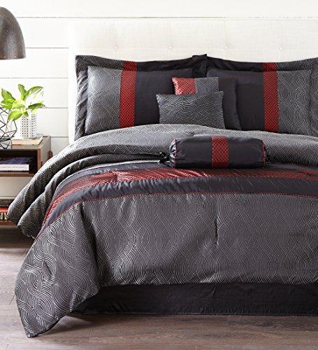 Nanshing Corell 7 Piece Comforter Set, Set of 4, Californ...