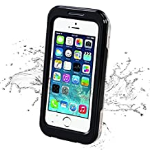 iPhone 5S Waterproof Case, iThrough 20ft Underwater, Dust Proof, Snow Proof, Shock Proof Case with Touched Screen Protector, Heavy Duty Protective Carrying Cover Case for iPhone 5/5S/4S