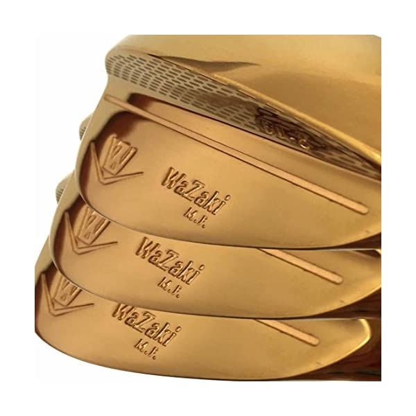 wazaki-Japan-14K-Gold-M-PRO-Forged-Soft-Iron-USGA-R-A-rules-of-Golf-Club-Wedge-Setpack-of-three