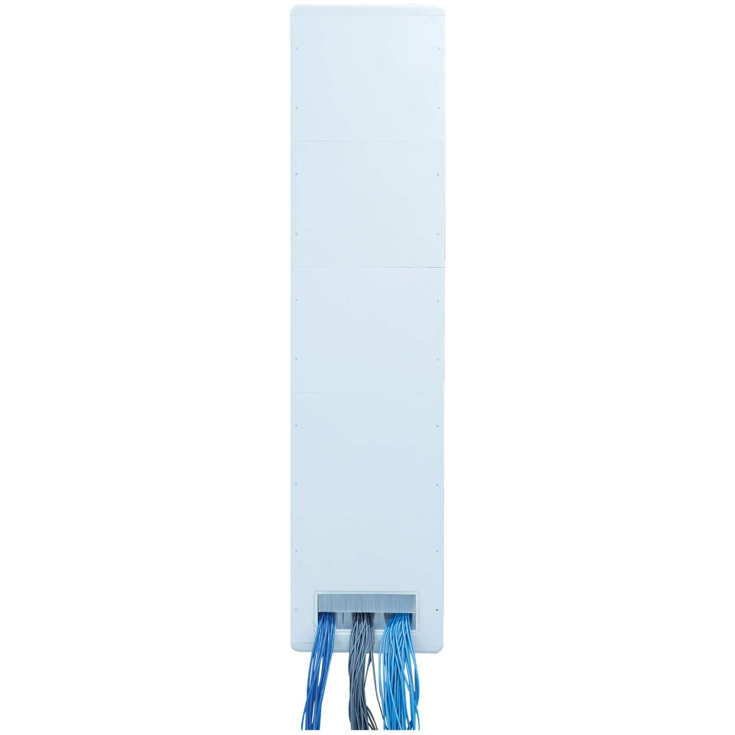 DataComm Electronics RA51006 DCMCT752P 75'' Cable Trench System 20'' L x 18.2'' W x 13'' H White by Datacomm Electronics (Image #3)