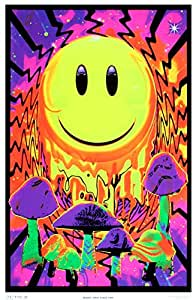 Have a Nice Trip Flocked Blacklight Poster 23 x 35in by Opticz