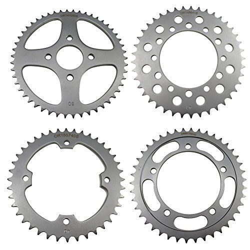 Outlaw Racing ORR85947 Rear Sprocket Steel 47T Yamaha GTS1000A YZF600R YZF750R
