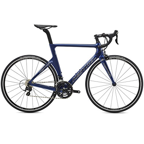 Kestrel 2019 Talon X Aero Carbon Road Bike with 105 Components (Blue, 55cm - 5'10