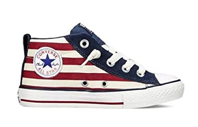 d7b7dcc727fa3f Image Unavailable. Image not available for. Colour  Converse Junior Chuck  Taylor All Star Street Mid ...