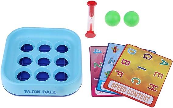 non-brand Blow Ball Juego de Mesa para Niños Rompecabezas Juguetes Educativos: Amazon.es: Juguetes y juegos