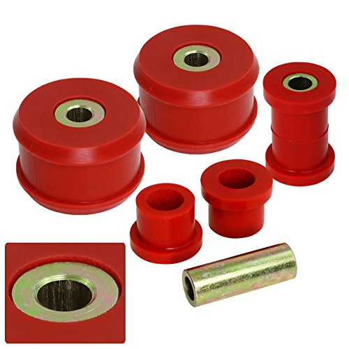 - AJP Distributors For Mk2 Mk3 Mk4 Mkii Mkiii Mkiv Jetta Golf Gti Gli Beetle Corrado Red Polyurethane Front Lower Control Arm Bushing Upgrade Replacement