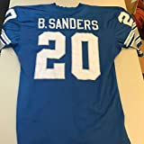 1995 Barry Sanders Game Used Detroit Lions Home Jersey - Unsigned NFL Game Used Jerseys